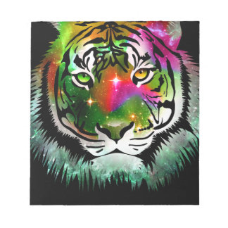 Colorful Tiger Animal Notepad