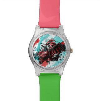 Colorful Tiger Animal Watches