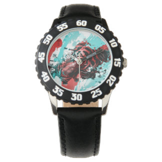 Colorful Tiger Animal Wrist Watches