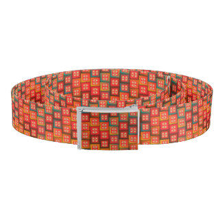 Colorful tiles belt
