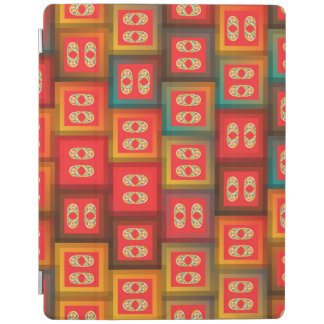 Colorful tiles iPad cover
