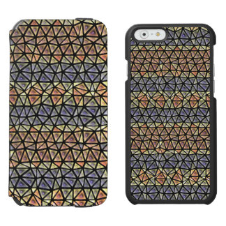 Colorful tiles pattern incipio watson™ iPhone 6 wallet case