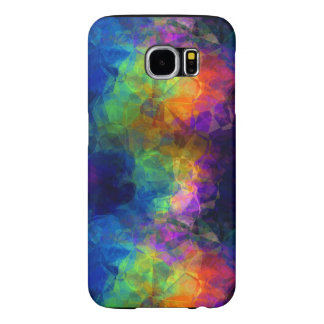 Colorful Tissue Paper Collage Samsung Galaxy S6 Cases
