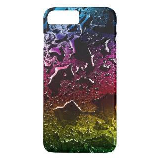 Colorful to water drops surface iPhone 7 plus case