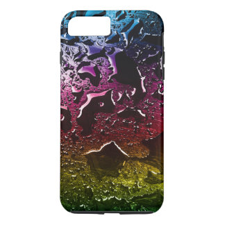 Colorful to water drops surface iPhone 8 plus/7 plus case