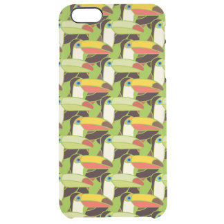 Colorful Toucans Clear iPhone 6 Plus Case