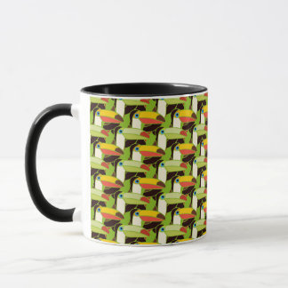 Colorful Toucans Mug