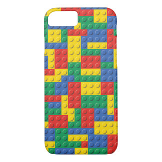 Colorful Toy Building Blocks Pattern Phone Case