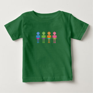 COLORFUL TOY ROBOTS KID'S TSHIRT