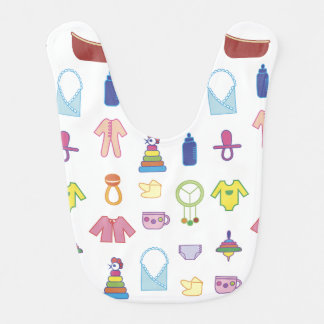 Colorful Toys Baby Bib
