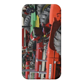 Colorful Tractors iPhone Case iPhone 4 Cover