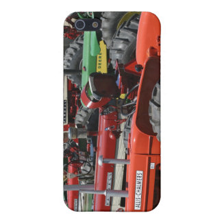 Colorful Tractors iPhone Case iPhone 5 Cover