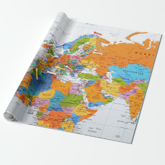 Colorful Travel Map