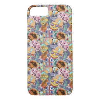 Colorful Travel Sticker Pattern iPhone 8/7 Case