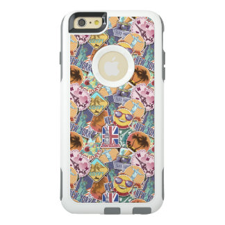 Colorful Travel Sticker Pattern OtterBox iPhone 6/6s Plus Case
