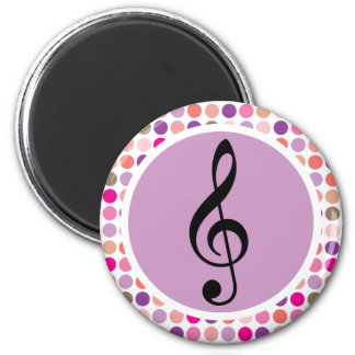 Colorful Treble Clef Fridge Magnet Gift