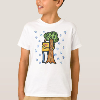 Colorful Tree Hugger T-Shirt