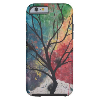 Colorful tree iphone case tough iPhone 6 case