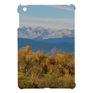 Colorful Trees and Majestic Mountain Peaks Cover For The iPad Mini