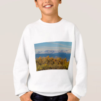 Colorful Trees and Majestic Mountain Peaks Sweatshirt
