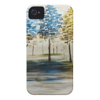 Colorful Trees iPhone 4 Cover