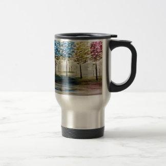 Colorful Trees Travel Mug