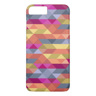 Colorful triangle pattern iPhone 8 plus/7 plus case