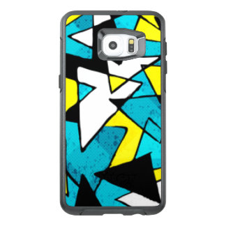 Colorful Triangle Shapes Pattern Print Design OtterBox Samsung Galaxy S6 Edge Plus Case