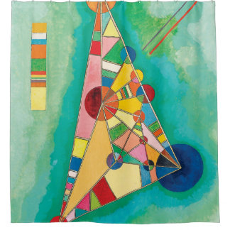 Colorful Triangles by Wassily Kandinsky