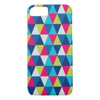 Colorful Triangles Modern Geometric Small Pattern iPhone 7 Case