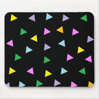 Colorful Triangles Mouse Pad