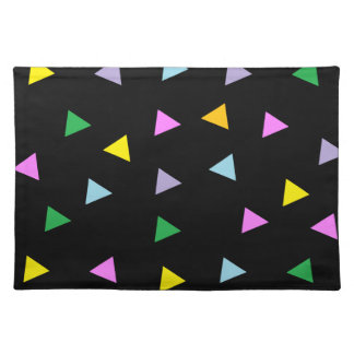 Colorful Triangles Place Mat