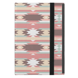 Colorful Tribal Aztec Pattern iPad Mini Cover