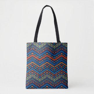 Colorful Tribal Boho Tote Bag