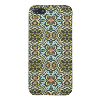 Colorful Tribal Floral Flowers Weave Groovy iPhone 5 Case