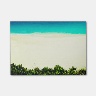 Colorful Tropical Beach Post-it® Notes