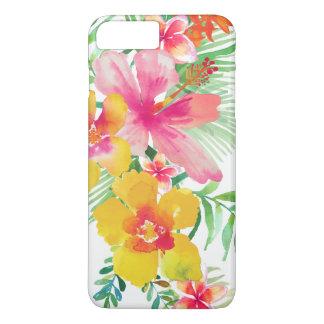 Colorful Tropical Flowers Bouquet 2 iPhone 8 Plus/7 Plus Case