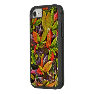 """COLORFUL TROPICAL FOLIAGE"" iPHONE 7 CASE"