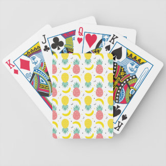 Colorful Tropical Fruit Pattern Bicycle Playing Cards