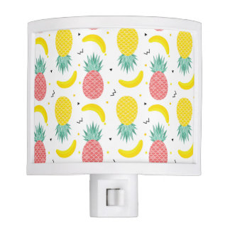 Colorful Tropical Fruit Pattern Nite Lites