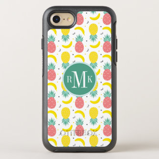 Colorful Tropical Fruit Pattern OtterBox Symmetry iPhone 8/7 Case