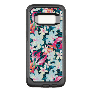Colorful Tropical Pattern OtterBox Commuter Samsung Galaxy S8 Case