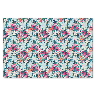 Colorful Tropical Pattern Tissue Paper