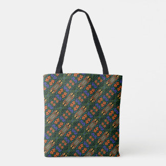 Colorful Tropical Pattern Tote Bag
