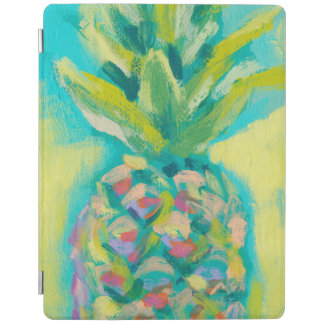 Colorful Tropical Pineapple iPad Cover