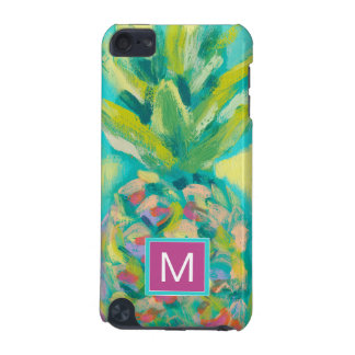 Colorful Tropical Pineapple iPod Touch 5G Cases