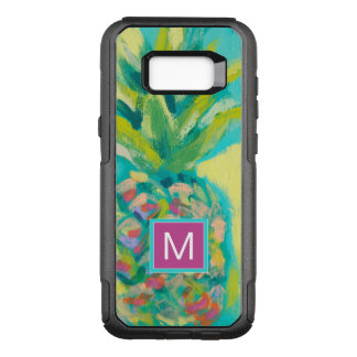 Colorful Tropical Pineapple OtterBox Commuter Samsung Galaxy S8+ Case