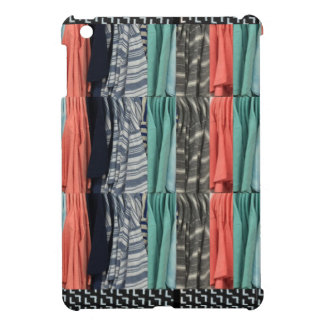 Colorful tshirts color patterns template add TEXT iPad Mini Case