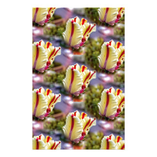 Colorful Tulip Stationery Design