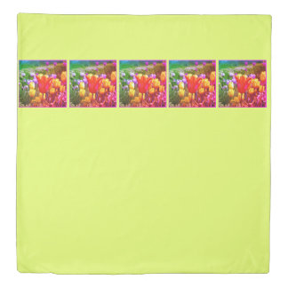 Colorful Tulips_321_B_R2 1.0.F Duvet Cover